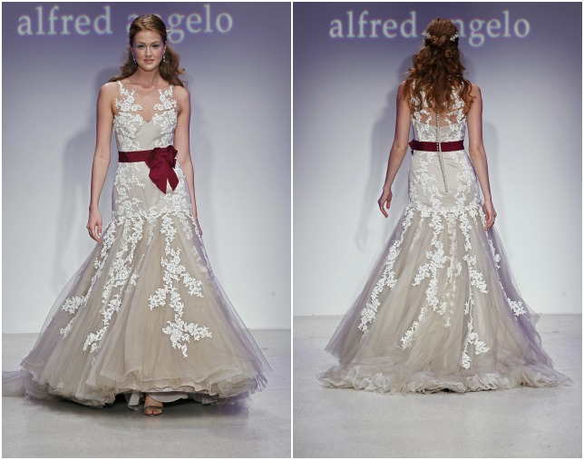 Wedding dresses 2013 top 10 trends best designersto for Tattoos and wedding dresses